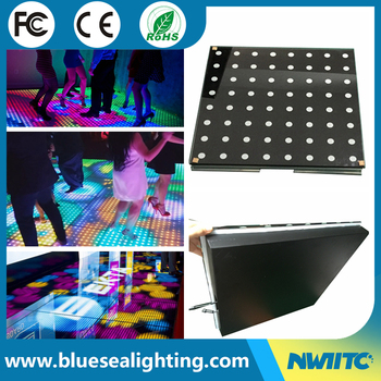 Led Dj Lighting Video Dance Floor Panels Portable