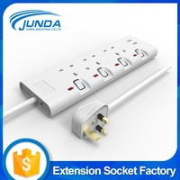 China wholesale price electric power supply 220v electrical plugs with usb charging port