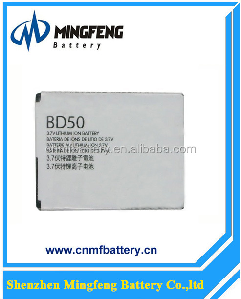 Original mobile phone battery for Motorola EM325/EM25/F3 BD50 Battery for Motorola Cellphone Battery