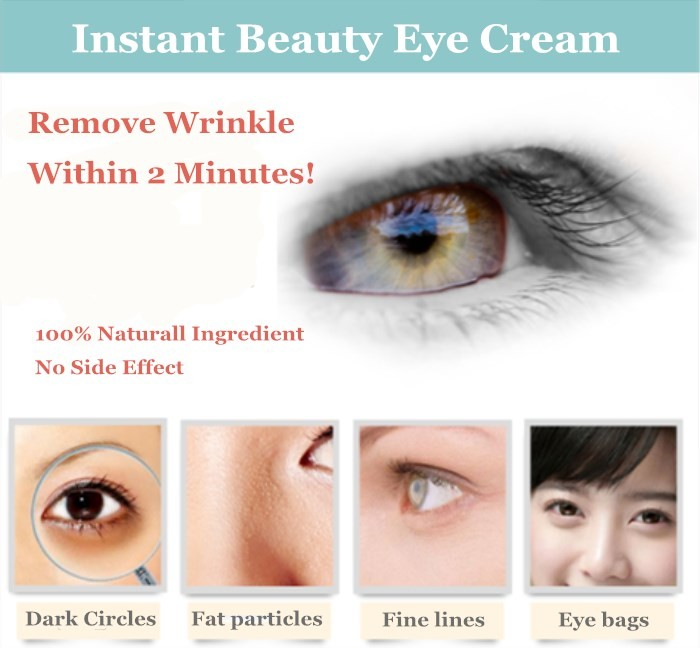 100% Active Ingredients Anti Puffiness 2 Minutes Eye Bag Removal Cream -  Buy Anti Puffiness Cream,Eye Bag Removal,Instant Anti Wrinkle Eye Cream
