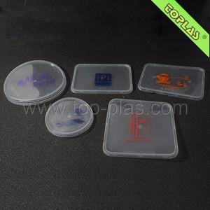 TOPLAS customized logo printing lid PP/LDPE