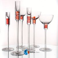 Samyo Glassware Manufacturer silver plated candlesticks