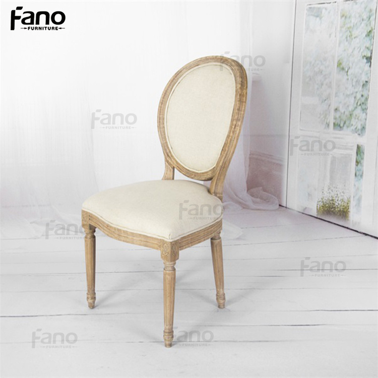 Crafted Wood Louis Xv Chair Reproduction