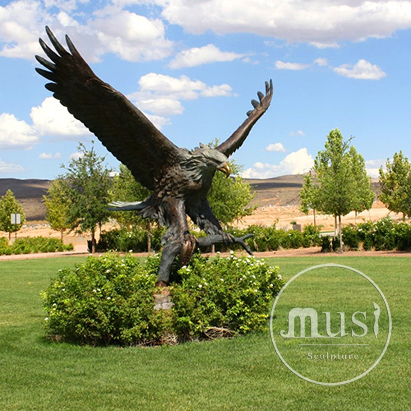 Garden Decoration Metal Craft Bronze Life Size Eagle Statue - Buy Metal  Craft Bronze Life Size Eagle Statue,Bronze Eagle Statue,Eagle Statue  Product ...