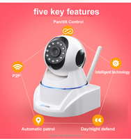 Two Way Audio WIFI Wireless Webcam 720P WIFI IP Camera P2P with IR Cut