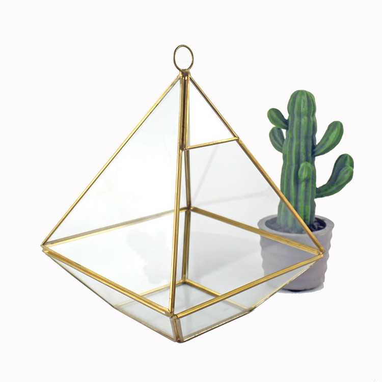 OEM all types/Size handblown geometric glass terrarium for home and wedding decoration