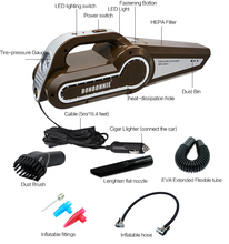 New design ce 4 in 1 wet and dry 12v car vacuum cleaner