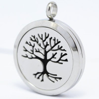 Yiwu Manufacturer Stainless Steel Tree Of Life Pendant Made In China