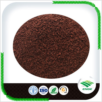 EDDHA Fe 6 % in organic fertilizers with red brown color granular
