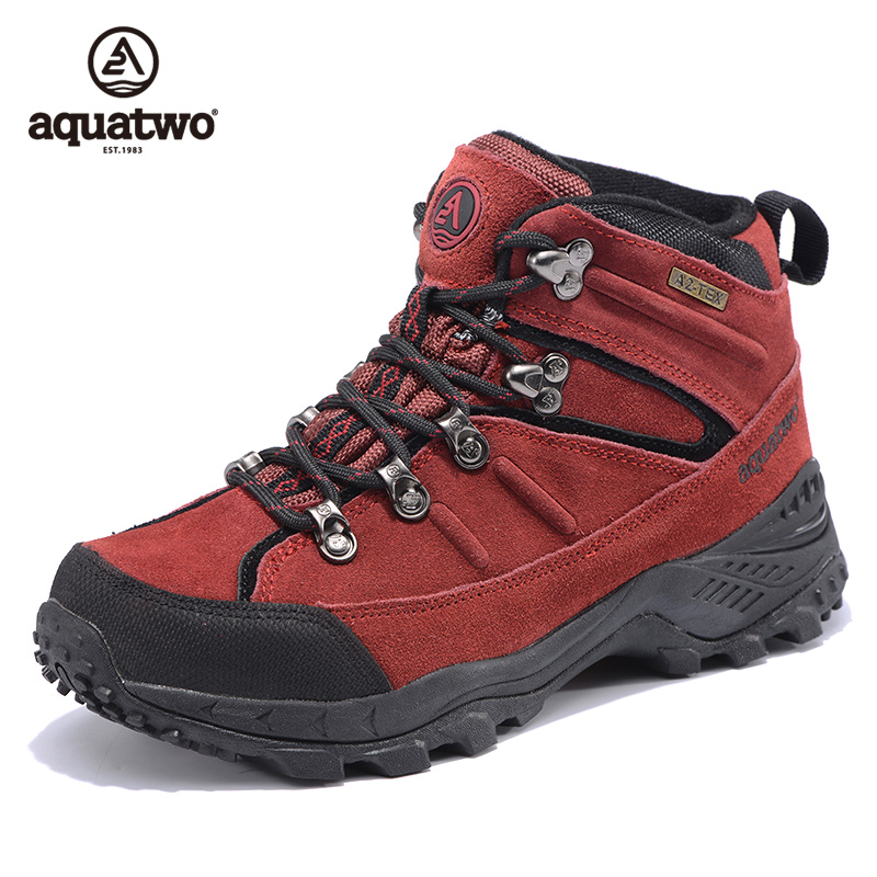 High Quality Aquatwo Brand Suede Leather Wholesale Rock Climbing Shoes For Women