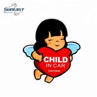 Child in car 3m reflective warning car sticker in stock