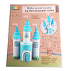 Make Your Own Castle by tissue paper craft DIY