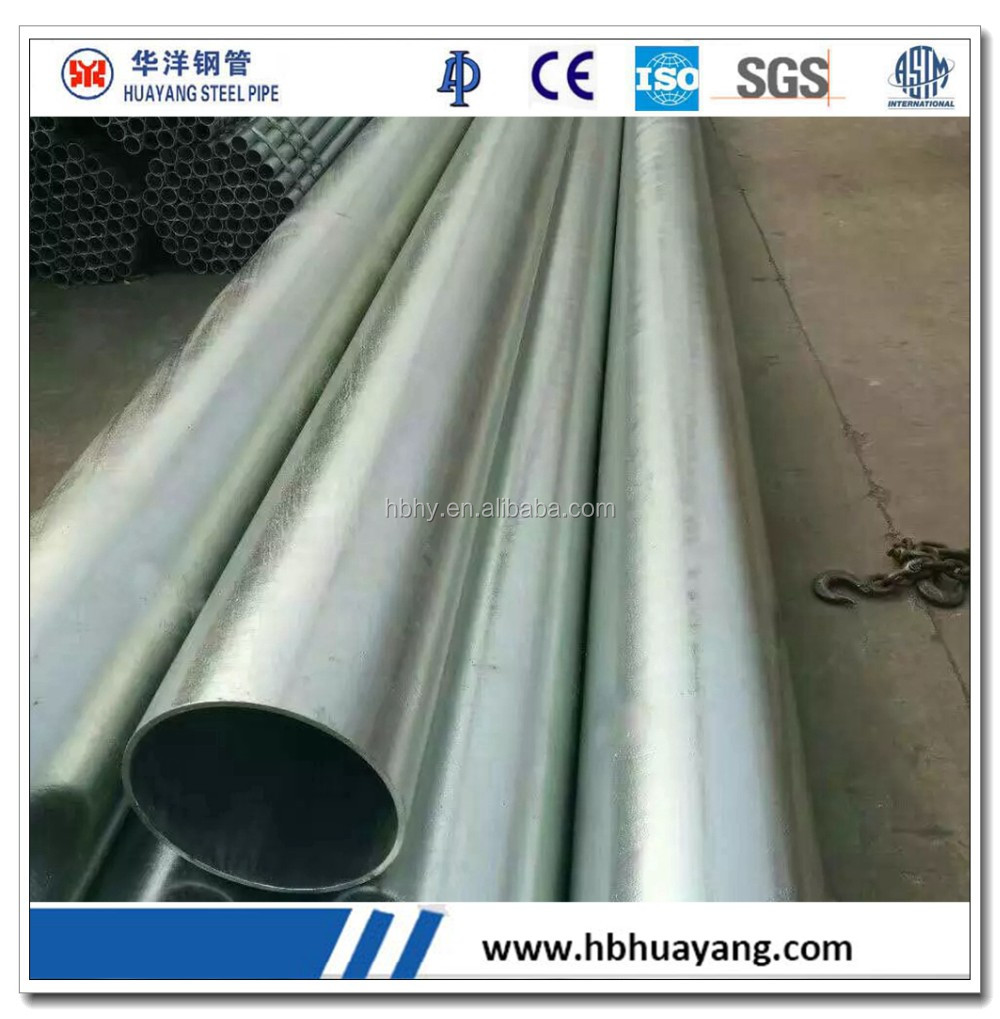 AS1163 / C250 / C350 galvanized steel conduit pipe / gavanized steel pipe