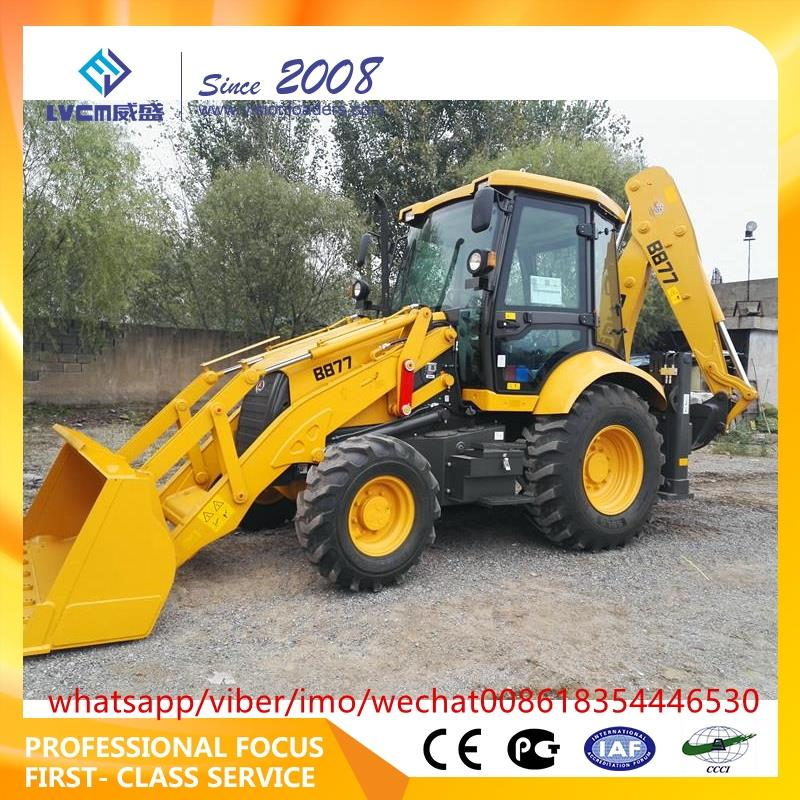 Multifunctional backhoe loader cheap backhoe loader with cheap price b877