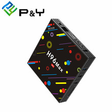 Iptv set top box H96 MAX H2 RK3328 4G 32G full hd ricevitore satellitare <span class=keywords><strong>android</strong></span> 7.1 marshmallow tv box vedios calda tutto in smart box