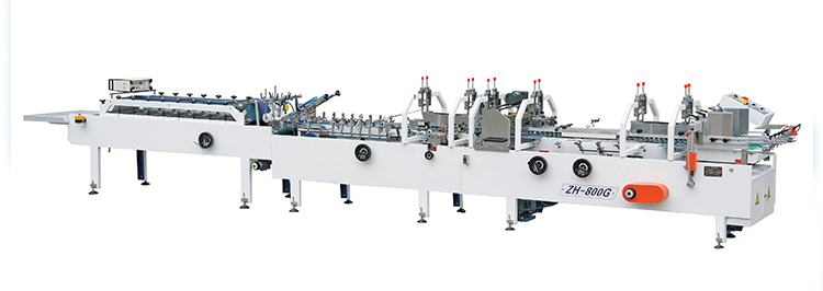 Best quality and service advanced low noise glue gluing machine