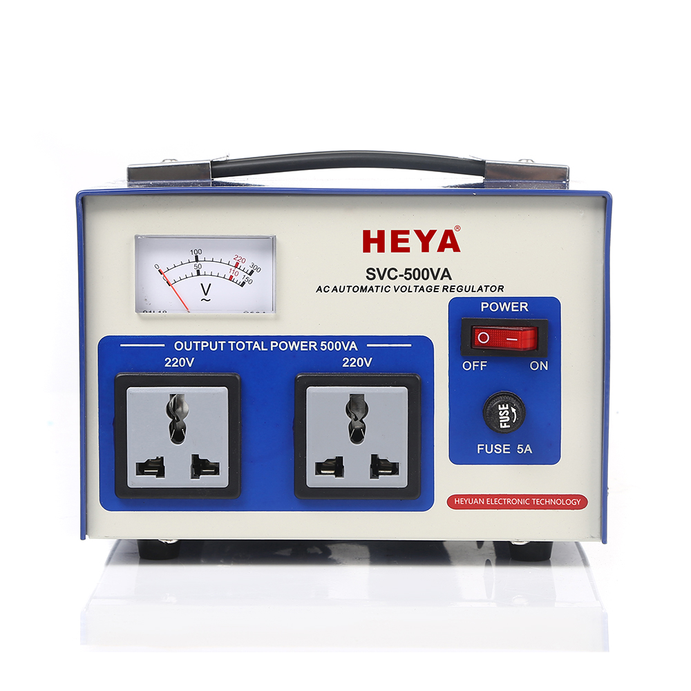 Top Quality 50Hz/60Hz Frequency 500A2 White Voltage Stabilizer