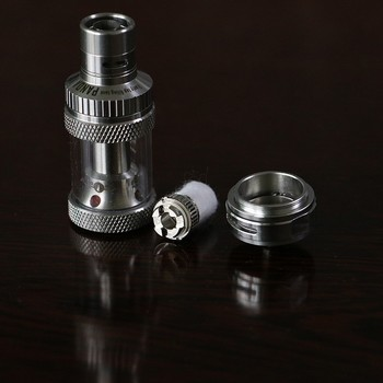 2015 new products 0.5 / 1.0 clapton coil sub ohm tank atomizer clearomizer vaporizer singapore super tank atomizer