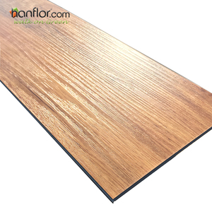 Wholesale Supplier And Sound Absorption Eco-friendly Wood Color Vinyl Flooring / Plastic Flooring / Vinyl Plank