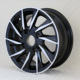 Black aluminum alloy car wheel rim for 14inch