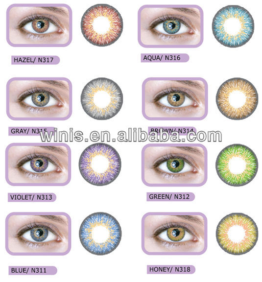 neo vision n31 soft color contact lens with power wholesale colored