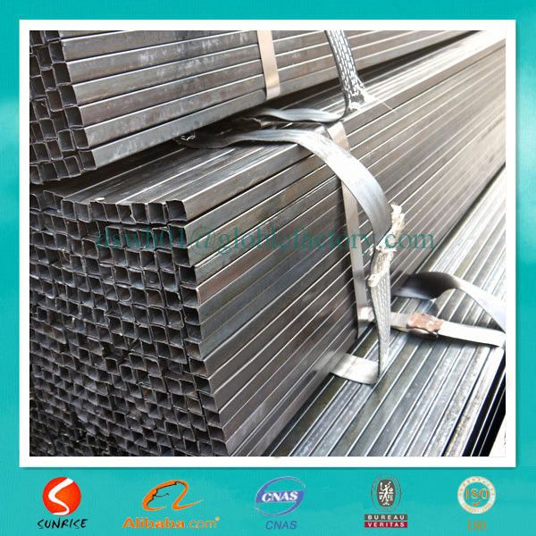 dark black oblong seam bendable steel pipe manufacturer