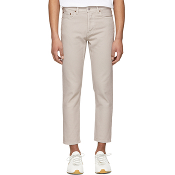 OEM Men Tapered Beige Jeans Pants