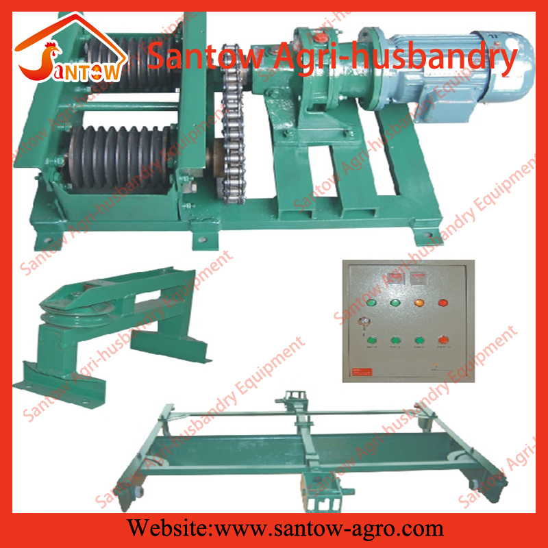 Automatic Poultry Chicken Manure Scraper Removal Machine