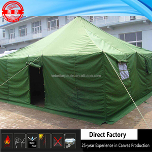 Army Military Tent, Disaster Relief Tent, Canvas Green Tent