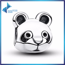 2017 Wholesale Components Raccoon Charm For Jewelry