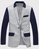 2015 Online Tailor Slim Casual Suit Jacket Men