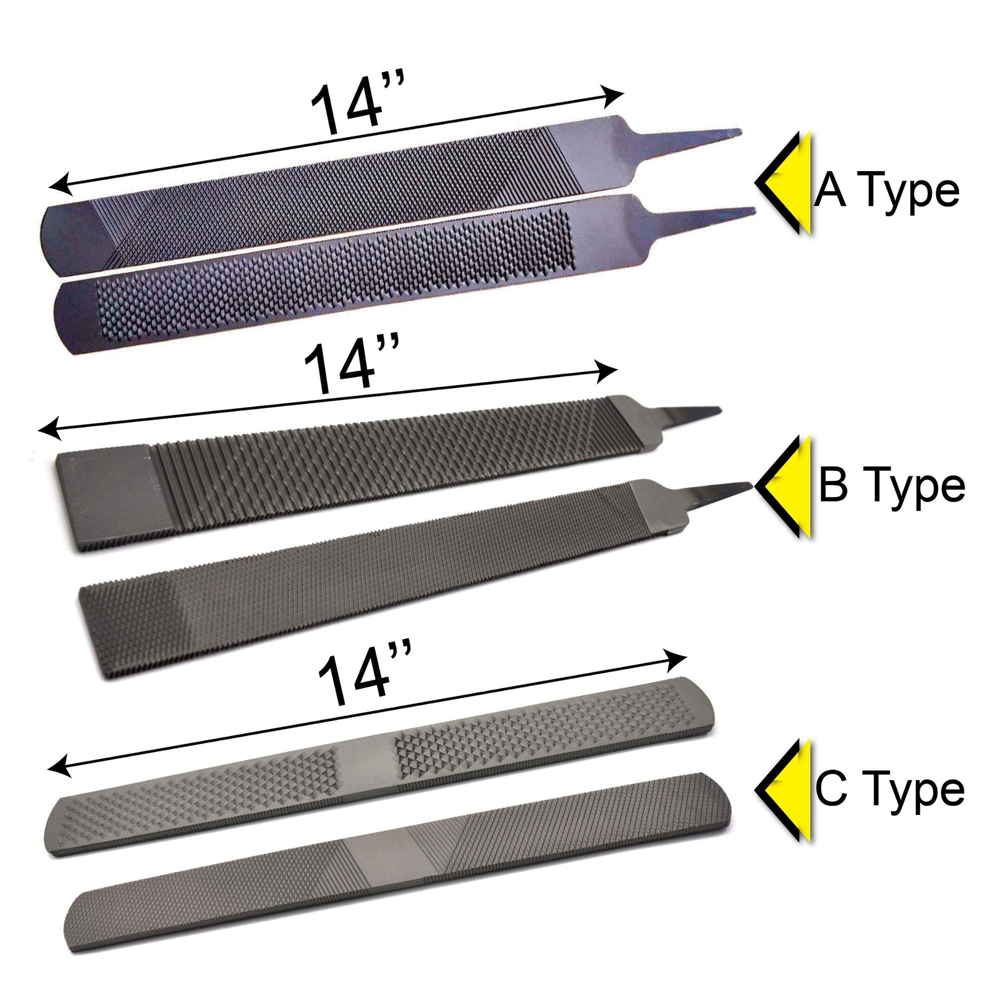 Hoof Rasp Coarse with Wooden Handle Farrier Tools High Quality