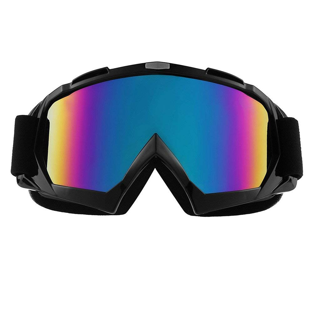 132171b88c Get Quotations · Ski Goggles Snowboard Goggles Motorcycle Goggles Skate  Glasses Motocross Goggles Safety Outdoor Glasses Sports Sunglasses 100