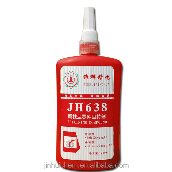 High quality Best price Fast curing Anaerobic <strong>adhesive</strong> Retaining <strong>Adhesive</strong> 638