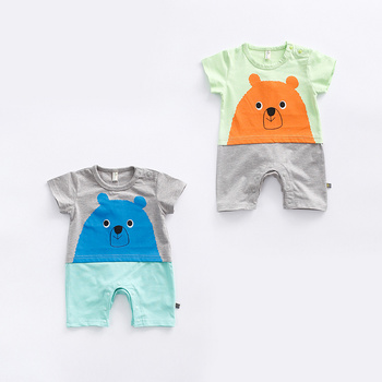 Bulk Wholesale Organic Baby Boutique Clothing Xnxx Cartoon Romper To