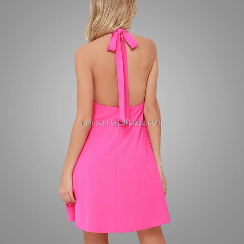 Mujeres Sexy Vestido Mini Vestido Del Club De La Falda Para El ...