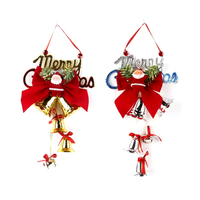 9 Type Home Party Decorations Christmas Tree Ornament Deer Hanging Xmas Festival Party Christmas Bells Decoration 2017