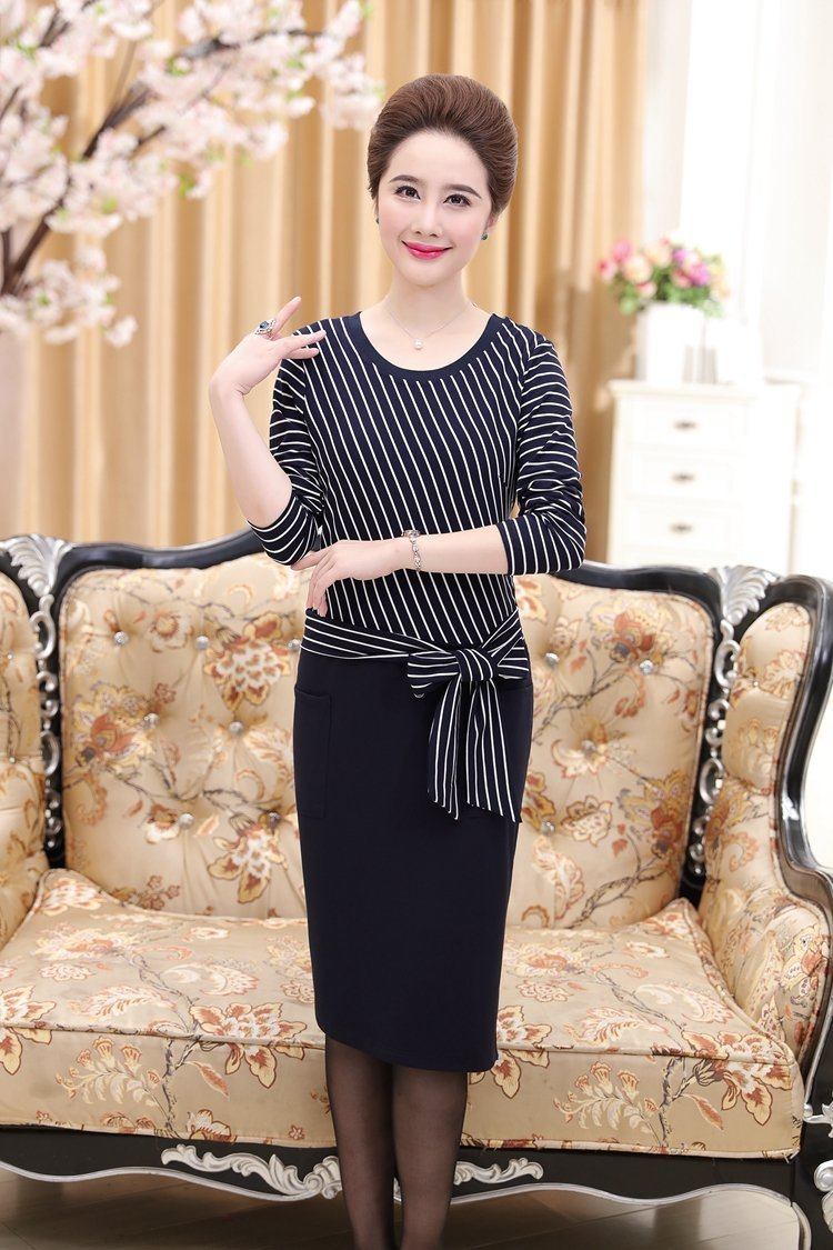 9844f61e5cdf Generic Middle-aged mother dress shirt women s fall and winter clothes  sweaters 40-50