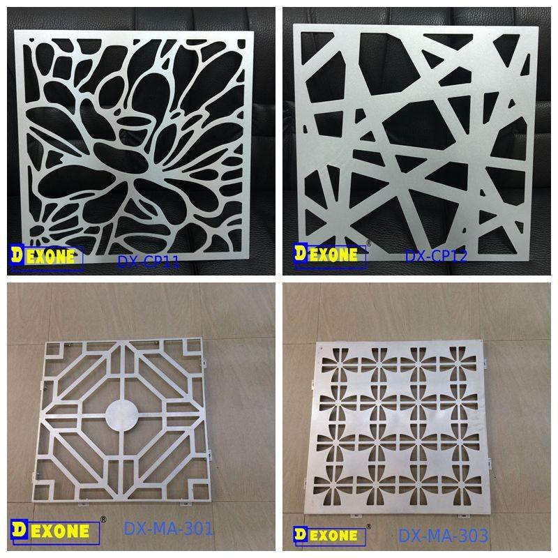 Aluminum decorative metal wall panel metal wall ornaments