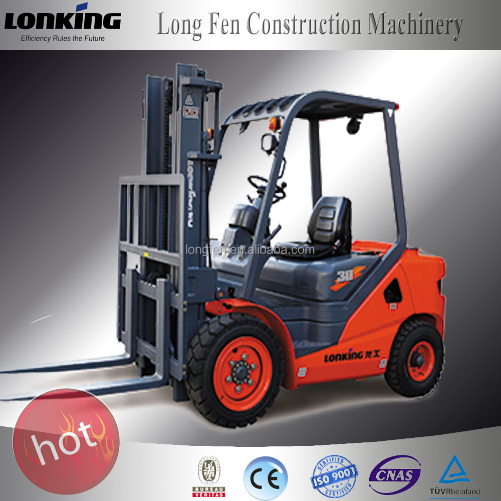 LG30 Lonking new model 3 ton fork truck with CE aprroved