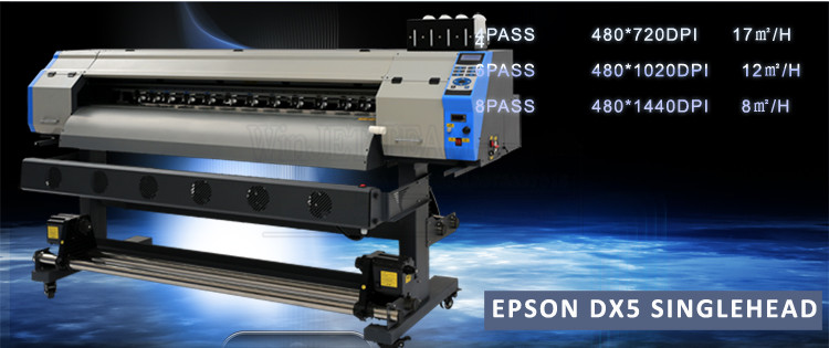 manufacturer eco solvent printer dx5 printhead canvas printing machine for sale