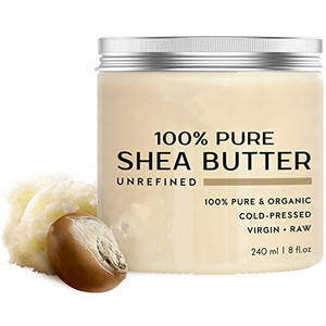 Private label natural raw and unrefined shea butter for skin care and hair care