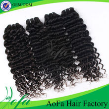 Wonderful unprocessed Beauty brazilian deep wave hair waves