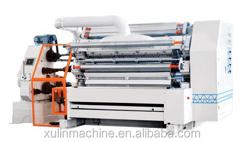 xulin corrugated cardboard production line/Single Facer For Corrugated Cardboard Making Machine