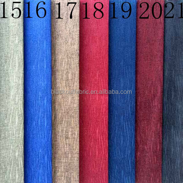 100% Polyester luxury curtain continuous curtain fabric
