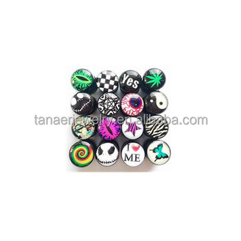new design surgical stainless steel ear piercing tunnels