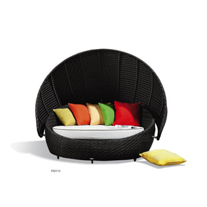 Modern style hot sale outdoor daybed round
