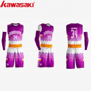 check out 3cb47 c3e4a 100% Polyester Youth Girls Custom Sublimated O-Neck Pink Basketball Jersey  / Shirt for School Team