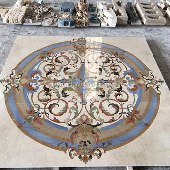 New Design Round Tile Marble Floor