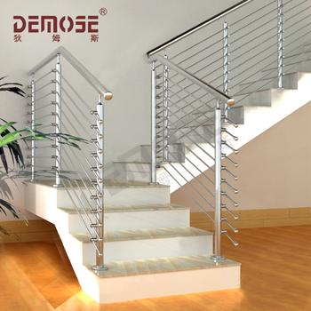 Favorit Treppengeländer-design Für Innen / Innen Edelstahl / Glas - Buy IJ19